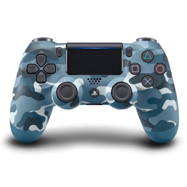 PS4用 ワイヤレスコントローラー(DUALSHOCK 4) ブルー・カモフラージュ