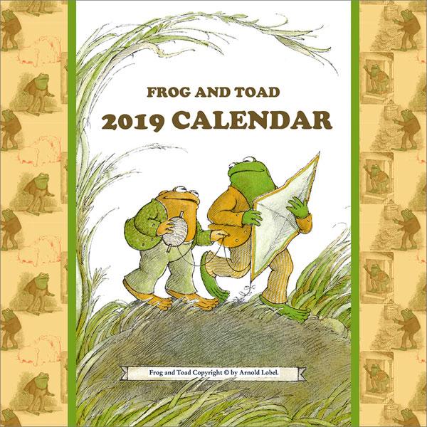 がまくんとかえるくん 2019年カレンダー