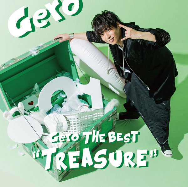 "CD Gero The Best ""Treasure"" 通常盤"