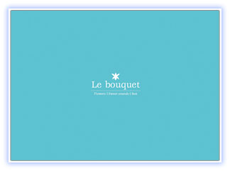 CD FLOWERS Sweet sounds Box 「Le bouquet」