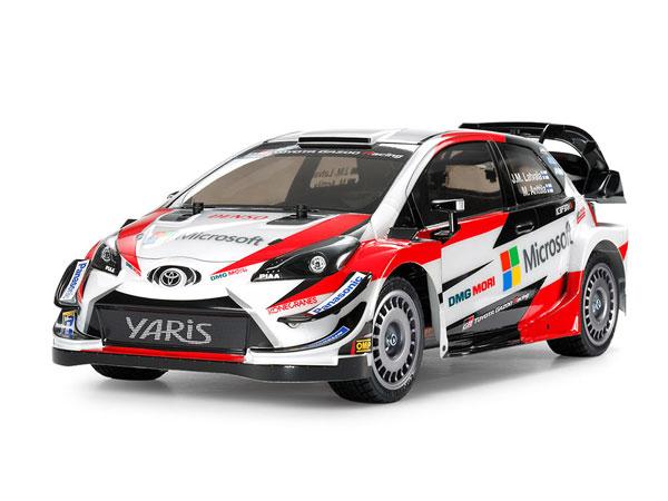 1/10電動RCカー トヨタ ガズー レーシング WRT/ヤリス WRC (TT-02シャーシ)