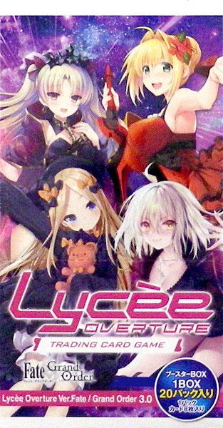 【特典】リセ オーバーチュア Ver.Fate/Grand Order 3.0 ブースターパック 16BOX入りカートン