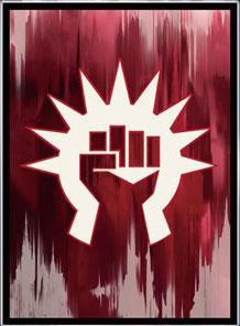 マジック:ザ・ギャザリング プレイヤーズカードスリーブ 『ラヴニカのギルド』 ≪ボロス軍≫ (MTGS-054) パック