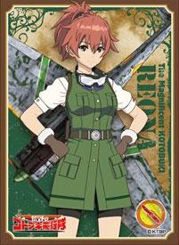 キャラクタースリーブ 荒野のコトブキ飛行隊 レオナ(EN-715) パック