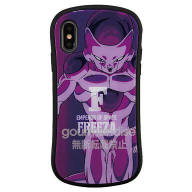 ドラゴンボール iPhone Xs/X 対応 ハイブリッドガラスケース フリーザ (DB-47C)
