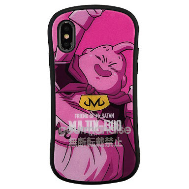 ドラゴンボール iPhone Xs/X 対応 ハイブリッドガラスケース 魔人ブウ (DB-47D)