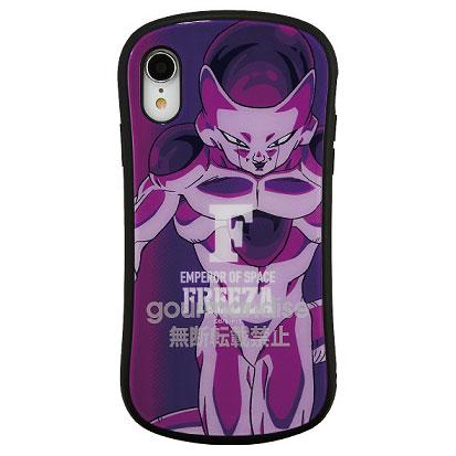 ドラゴンボール iPhone XR 対応 ハイブリッドガラスケース フリーザ (DB-48C)