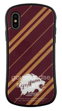ハリー・ポッター iPhone Xs/X 対応 ハイブリッドガラスケース グリフィンドール (HP-24A)