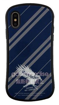 ハリー・ポッター iPhone Xs/X 対応 ハイブリッドガラスケース レイブンクロー (HP-24C)