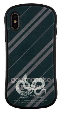 ハリー・ポッター iPhone Xs/X 対応 ハイブリッドガラスケース スリザリン (HP-24D)