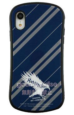 ハリー・ポッター iPhone XR 対応 ハイブリッドガラスケース レイブンクロー (HP-25C)