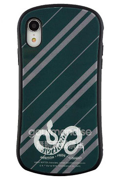 ハリー・ポッター iPhone XR 対応 ハイブリッドガラスケース スリザリン (HP-25D)