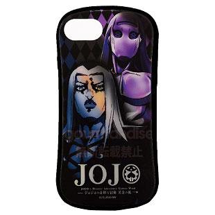 ジョジョの奇妙な冒険 黄金の風 iPhone 8/7/6s/6 対応 ハイブリッドガラスケース アバッキオ (JJK-20C)
