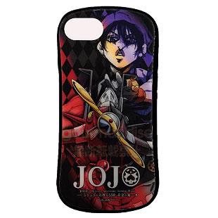 ジョジョの奇妙な冒険 黄金の風 iPhone 8/7/6s/6 対応 ハイブリッドガラスケース ナランチャ (JJK-20E)