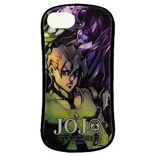 ジョジョの奇妙な冒険 黄金の風 iPhone 8/7/6s/6 対応 ハイブリッドガラスケース フーゴ (JJK-20F)