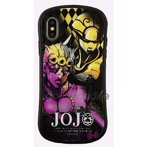 ジョジョの奇妙な冒険 黄金の風 iPhone Xs/X 対応 ハイブリッドガラスケース ジョルノ (JJK-21A)