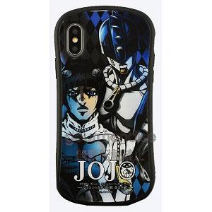 ジョジョの奇妙な冒険 黄金の風 iPhone Xs/X 対応 ハイブリッドガラスケース ブチャラティ (JJK-21B)