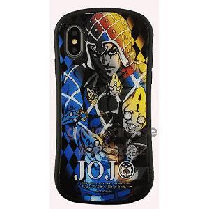ジョジョの奇妙な冒険 黄金の風 iPhone Xs/X 対応 ハイブリッドガラスケース ミスタ (JJK-21D)