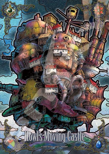 アートクリスタルジグソー スタジオジブリ作品 ハウルの動く城 夕暮れの城 208ピース (208-AC57)
