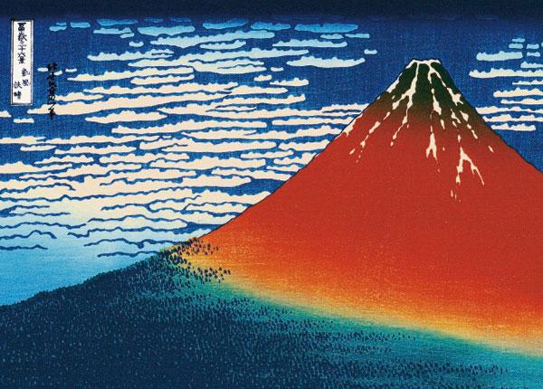 ジグソーパズル 凱風快晴〈富嶽三十六景〉 2000スーパースモールピース (54-022)