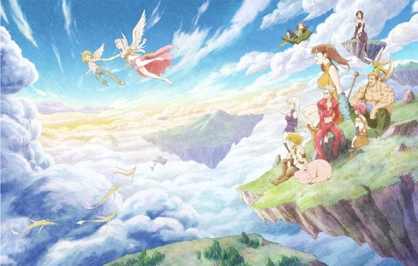 DVD 劇場版 七つの大罪 天空の囚われ人 完全生産限定版