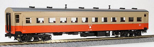 16番 津軽鉄道 オハ46形 客車 塗装済完成品