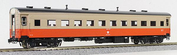 16番 津軽鉄道 オハフ33形 客車 塗装済完成品
