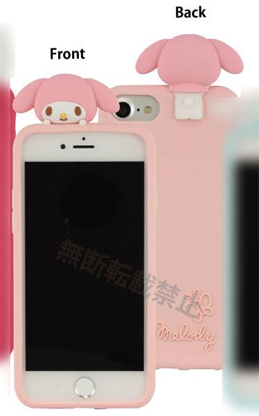 サンリオキャラクター iPhone 8/7/6s/6対応シリコンケース マイメロディ (SAN-971MM)