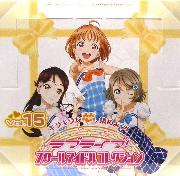 ラブライブ!スクールアイドルコレクション Vol.15 30パック入りBOX
