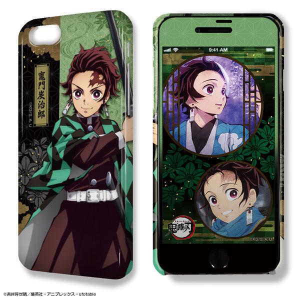 デザジャケット 鬼滅の刃 iPhone 7/8ケース&保護シート デザイン01(竈門炭治郎)