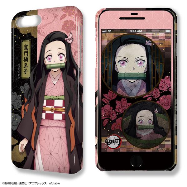 デザジャケット 鬼滅の刃 iPhone 7 Plus/8 Plusケース&保護シート デザイン02(竈門禰豆子)