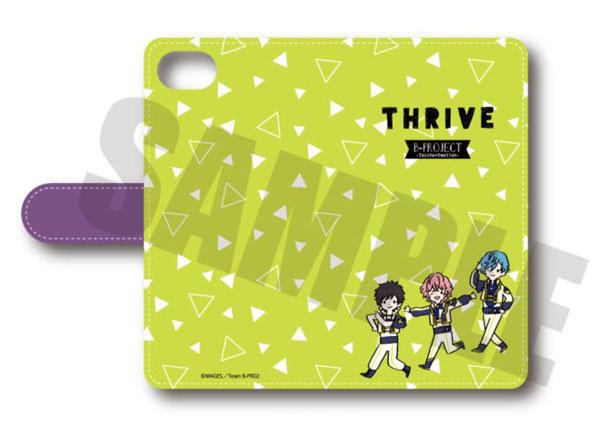 B-PROJECT〜絶頂*エモーション〜 手帳型スマホケース(iPhone5/5s/SE) PlayP-B THRIVE