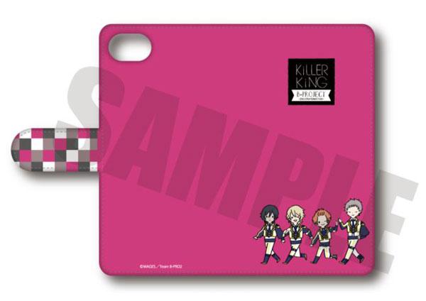 B-PROJECT〜絶頂*エモーション〜 手帳型スマホケース(iPhone5/5s/SE) PlayP-D KiLLER KiNG