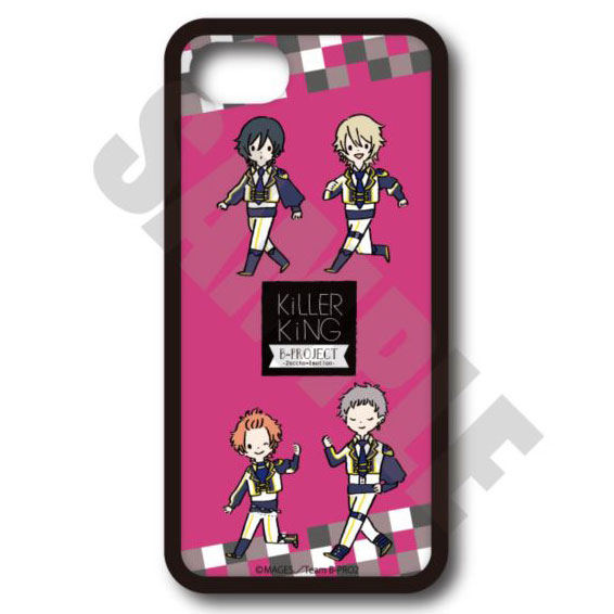 B-PROJECT〜絶頂*エモーション〜 ハードケース(iPhone5/5s/SE) PlayP-D KiLLER KiNG