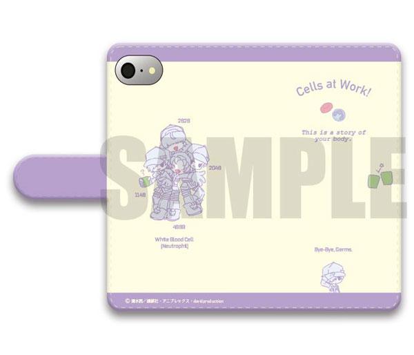 「はたらく細胞」手帳型スマホケース(iPhone5/5s/SE)SEWEETOY-SB