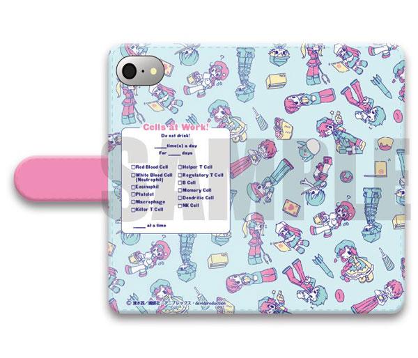 「はたらく細胞」手帳型スマホケース(iPhone5/5s/SE)SEWEETOY-SC