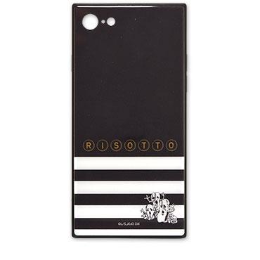 ジョジョの奇妙な冒険 黄金の風 iPhone 8/7 対応 スクエアガラスケース リゾット (JJK-41B)
