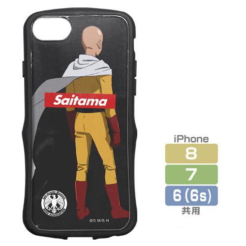 ワンパンマン サイタマ TPUバンパー iPhoneケース [6・7・8共用]
