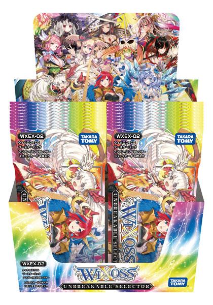 【特典】ウィクロスTCG ブースターパック アンブレイカブルセレクター 20パック入りBOX