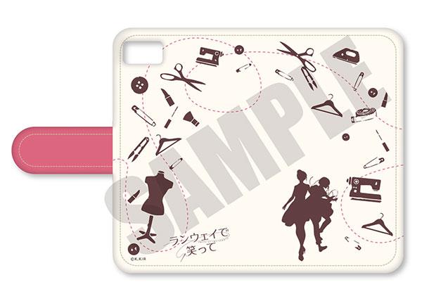 ランウェイで笑って 手帳型スマホケース (iPhone5/5s/SE) B