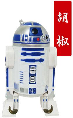 【クリックでお店のこの商品のページへ】スター・ウォーズ R2-D2 胡椒挽き ブルー(再販)[ハートアートコレクション]《在庫切れ》