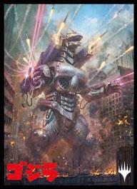 マジック:ザ・ギャザリング プレイヤーズカードスリーブ 『イコリア:巨獣の棲処』 ≪決戦兵器、メカゴジラ≫ パック