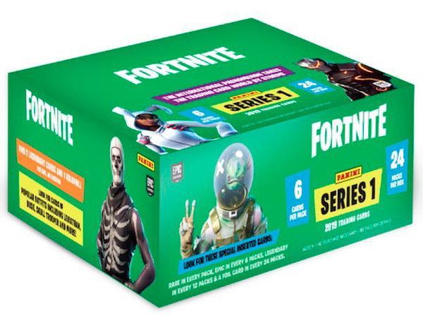 フォートナイト トレーディングカード シリーズ1 24パック入りBOX