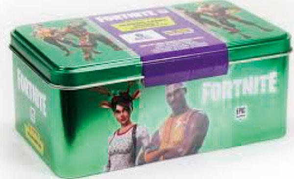 フォートナイト トレーディングカード シリーズ1 コレクターズ缶