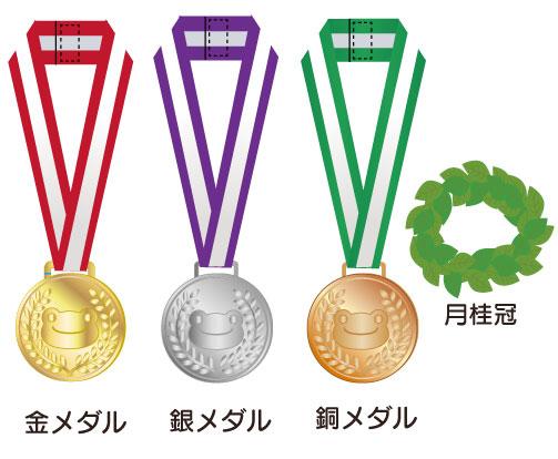 ピクルス スポーツコスチューム メダルセット