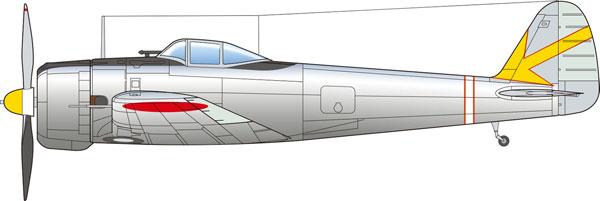 """1/144 陸軍一式戦闘機 隼I型 """"銀翼の隼"""" プラモデル"""