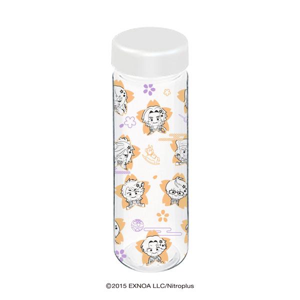 3色クリアボトル「わんぱく!刀剣乱舞」02/桜デザイン オレンジ