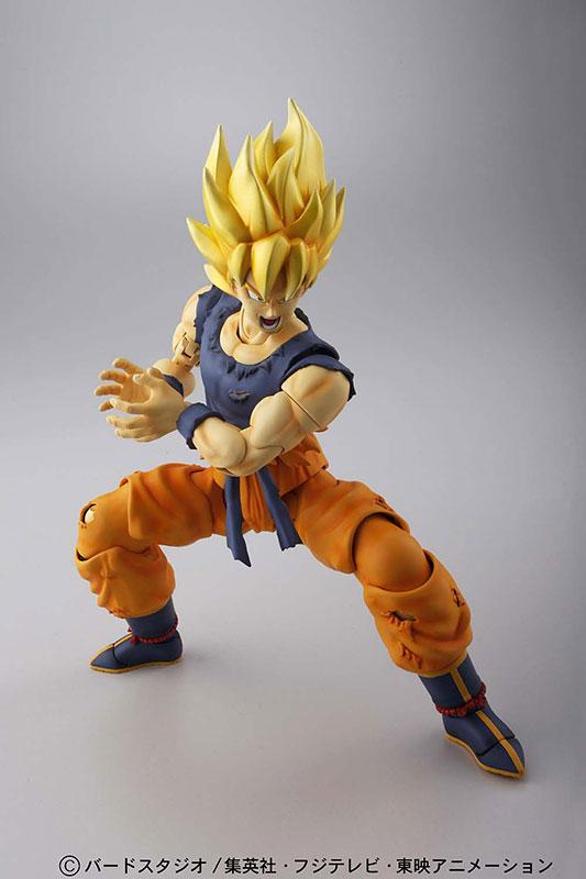 MG Figure-rise - Dragon Ball Z Kai 1/8 Super Saiyan Son Goku Action Figure Plastic Model(Pre-order)MG フィギュアライズ ドラゴンボール改 1/8 超サイヤ人 孫悟空 アクションフィギュア プラモデルAccessory