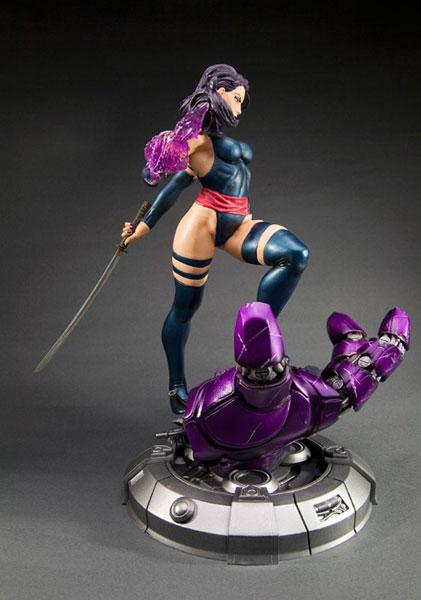 amiami character hobby shop  men fine art statue psylocke danger room sessions coldcast