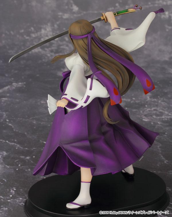 クイーンズブレイド 武者巫女トモエ -2Pカラー- フィギュア